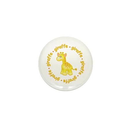 Cute Giraffe Mini Button