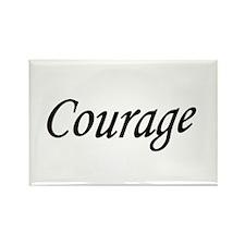 Unique Courage quotes Rectangle Magnet