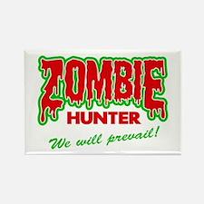 Zombie Hunter Society Rectangle Magnet