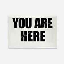 You Are Here Entourage Rectangle Magnet