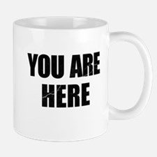 You Are Here Entourage Mug