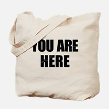 You Are Here Entourage Tote Bag
