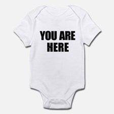 You Are Here Entourage Infant Bodysuit