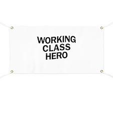 Working Class Hero Banner