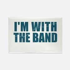 Im With the Band Rectangle Magnet (10 pack)