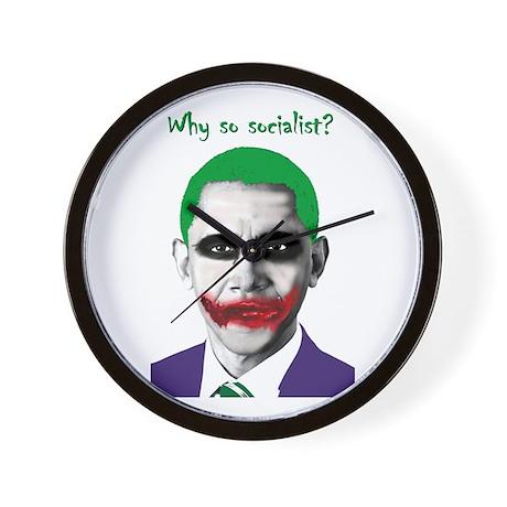 Obama - Why So Socialist? Wall Clock