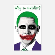 Obama - Why So Socialist? Rectangle Decal
