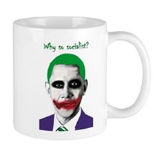 Obama - Why So Socialist? Small Mug
