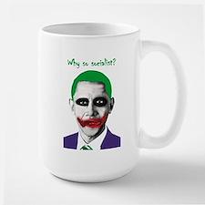 Obama - Why So Socialist? Large Mug