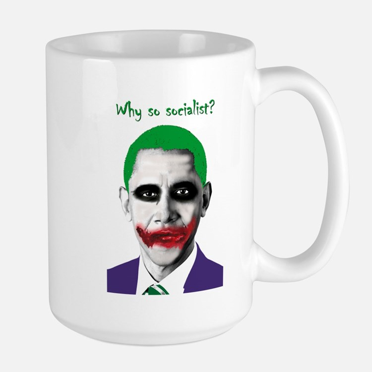 Obama - Why So Socialist? Mug