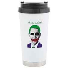 Obama - Why So Socialist? Travel Mug