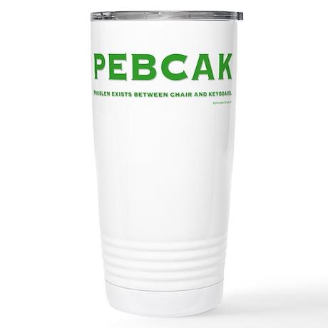 PEBCAK Stainless Steel Travel Mug