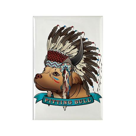 Pitting Bull Rectangle Magnet (100 pack)