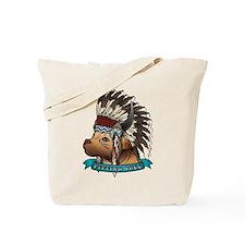 Pitting Bull Tote Bag