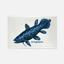 Coelacanth Rectangle Magnet