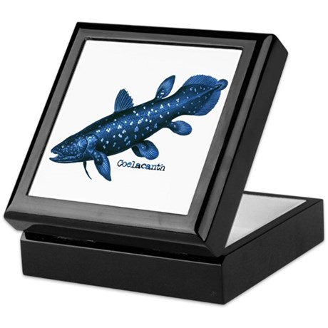 Coelacanth Keepsake Box