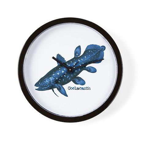 Coelacanth Wall Clock