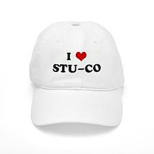I Love STU-CO Baseball Cap
