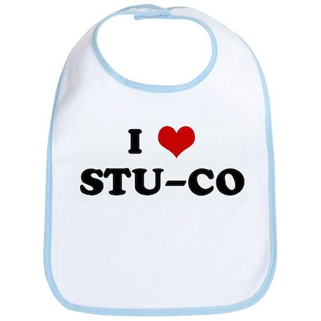 I Love STU-CO Bib