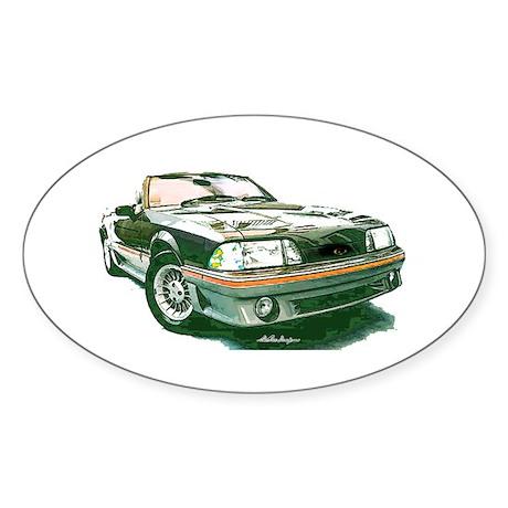Mustang 87-93 RWB5spd Oval Sticker (50 pk)