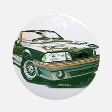 Mustang 87-93 RWB5spd Ornament (Round)