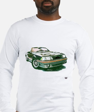 Mustang 87-93 RWB5spd Long Sleeve T-Shirt