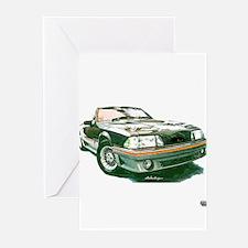 Mustang 87-93 RWB5spd Greeting Cards (Pk of 20)
