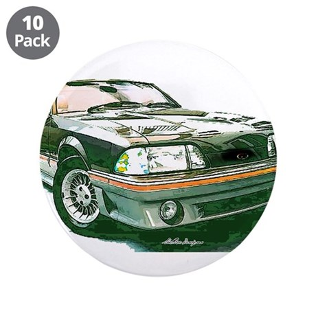 """Mustang 87-93 RWB5spd 3.5"""" Button (10 pack)"""