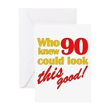Funny 90th Birthday Gag Gifts Greeting Card