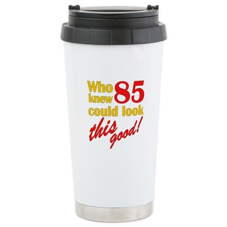 Funny 85th Birthday Gag Gifts Stainless Steel Trav