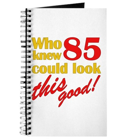 Funny 85th Birthday Gag Gifts Journal