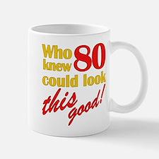Funny 80th Birthday Gag Gifts Small Small Mug