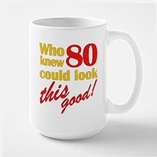 Funny 80th Birthday Gag Gifts Mug