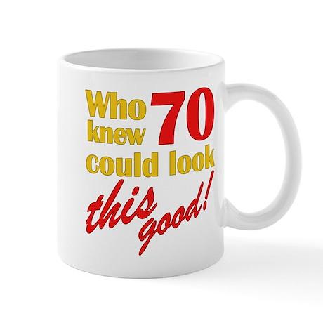 Funny 70th Birthday Gag Gifts Mug