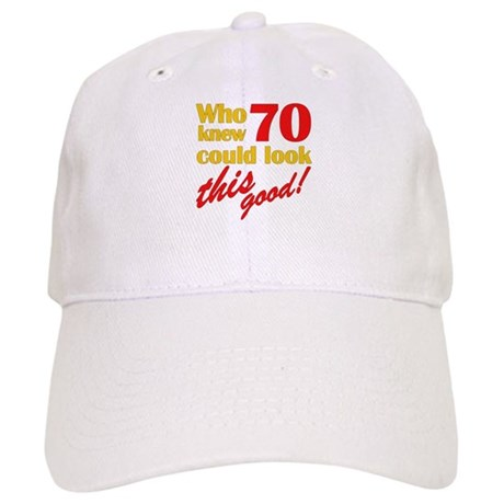 Funny 70th Birthday Gag Gifts Cap
