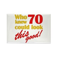 Funny 70th Birthday Gag Gifts Rectangle Magnet
