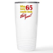 Funny 65th Birthday Gag Gifts Travel Mug