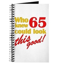 Funny 65th Birthday Gag Gifts Journal