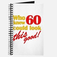 Funny 60th Birthday Gag Gifts Journal