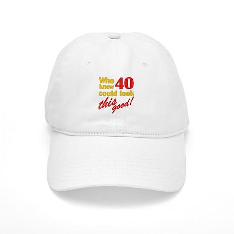Funny 40th Birthday Gag Gifts Cap