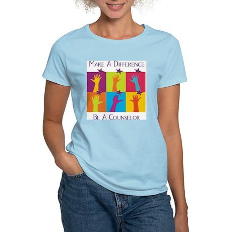 Difference Counselor Women's Light T-Shirt