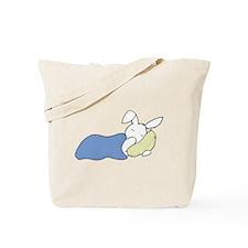 Sleepy Bunny Tote Bag