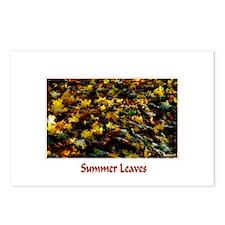 Summer Leaves  Postcards (Package of 8)
