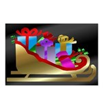 Christmas/New Year's Postcards (Package of 8)