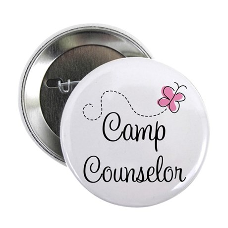 """Camp Counselor 2.25"""" Button (10 pack)"""