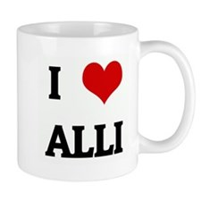 I Love ALLI Mug