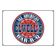 Elwell's All American BBQ Banner