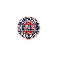 Elwell's All American BBQ Mini Button