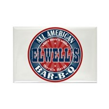 Elwell's All American BBQ Rectangle Magnet (10 pac
