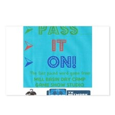 Unique Pass it on Postcards (Package of 8)